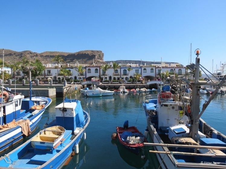 Puerto de Mogan port Gran Canaria Spain