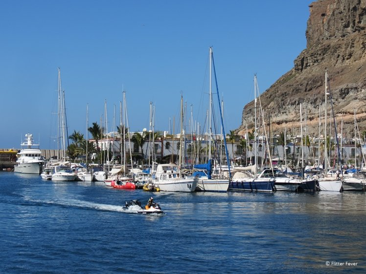 Water sports paradise Puerto de Mogan