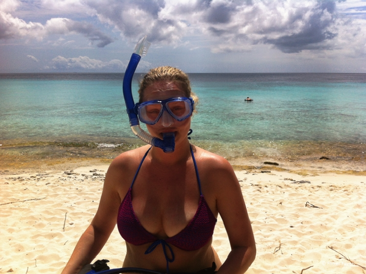 Snorkeling at Playa Abou Curacao