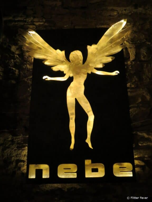 Nebe Club in New Town is underground