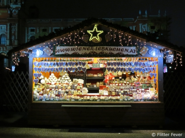 Christmas stall Vienna