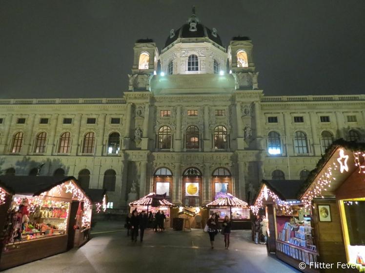 Vienna Christmas market at Museum Quartier