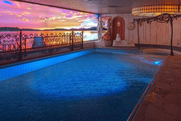 Sauna van Egmond pool Haarlem