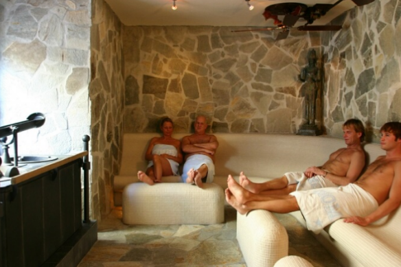 Sauna van Egmond Caldarium