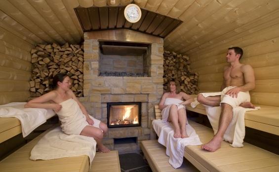 Saunapark Gronau Epe sauna wood