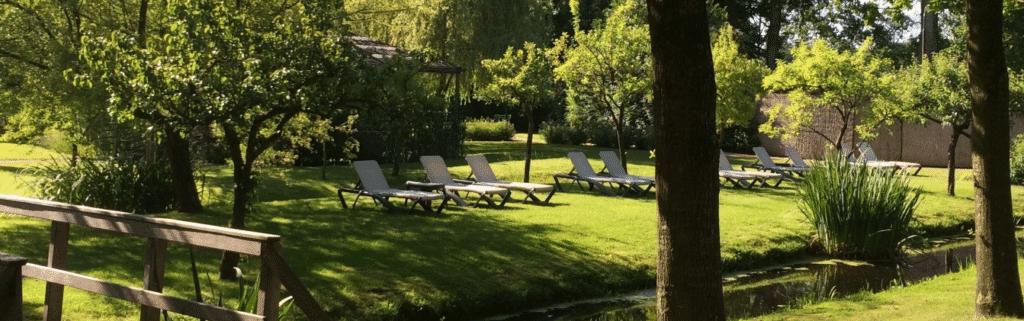 Thermen Zuidwolde garden Drenthe sauna