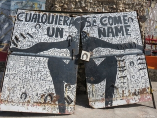 Callejon de Hamel black woman art Havana