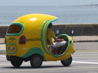 Coco Havana Tropico Taxi Havana Cuba