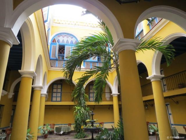 Beautiful colonial architecture Havana Cuba