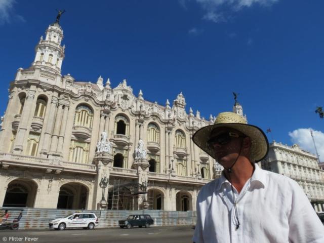 Parque Central old timer oldtimer Havana capitol Cuba