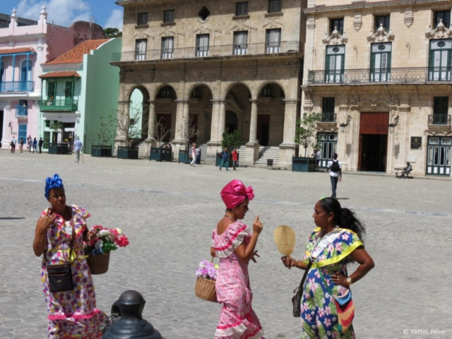 Plaza San Francisco Havana Cuba