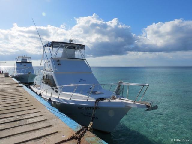 Maria La Gorda Cuba diving boat