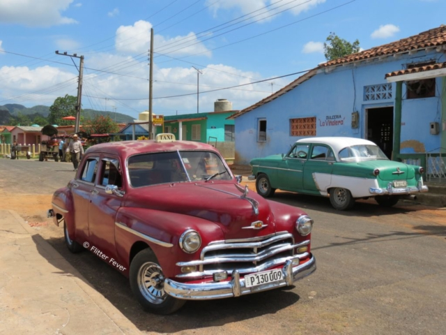 Taxi oldtimer Viñales Cuba