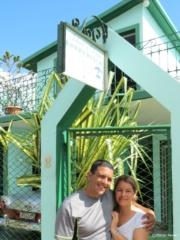 Idael & Dania at their wonderful casa in Matanzas Cuba