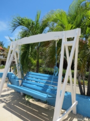 Colonial Cayo Coco Hotel swing bench