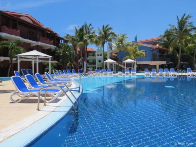 Colonial Cayo Coco Hotel pool Cuba Jardines del Rey