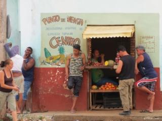 Grocery store Trinidad Cuba