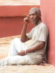 Man thinking with cigar @ Trinidad