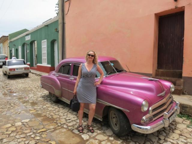 Pink oldtimer @ Trinidad