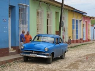 Colorful streets of Trinidad