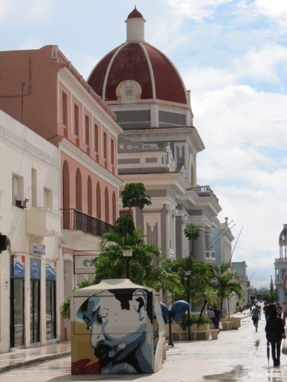 Shopping street Cienfuegos Cuba