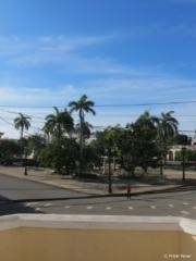 Balcony view from Hostal Marilu in Cienfuegos