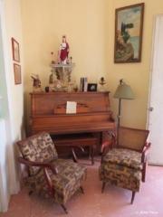 Interior of Hostal Marilu in Cienfuegos Cuba