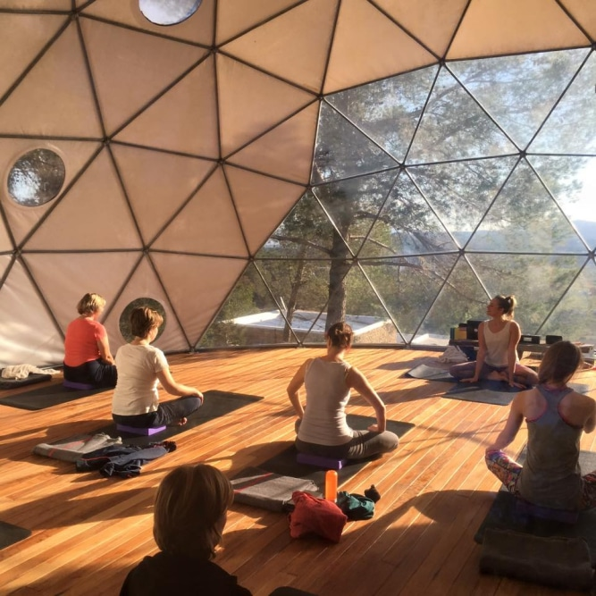 Yoga Dome @ Ibiza (Retreat Yourself)