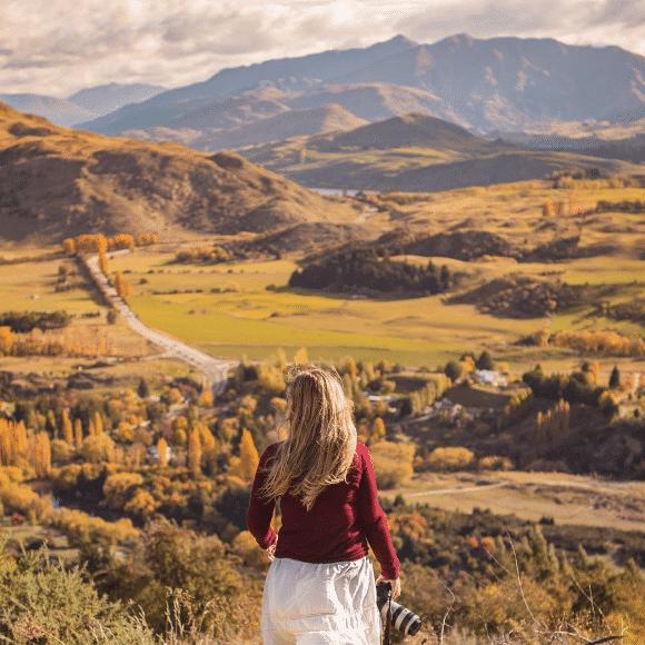 Liz in Arrowtown, NZ
