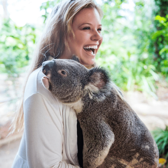 When the koala you're cuddling starts making loud unmistakable mating calls in front of EVERYONE...