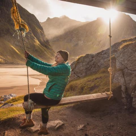 Liz shows the beauty of Lofoten in northern Norway