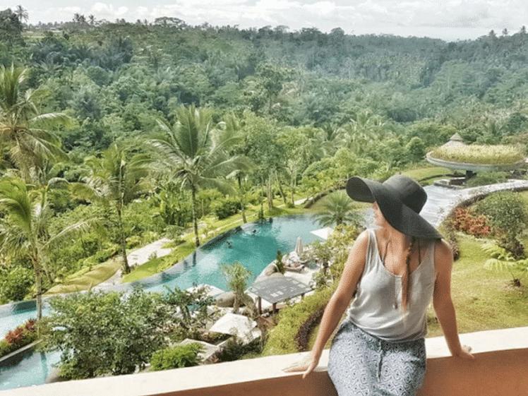 Naomi at Padma Resort in Ubud, Bali, Indonesia