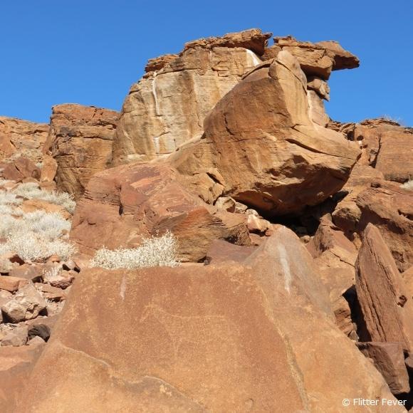 Horse & Rock Jaw @ Twyfelfontein, Namibia