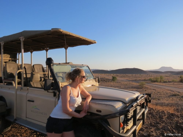 Excellent location for a sundowner @ Damaraland, Namibia