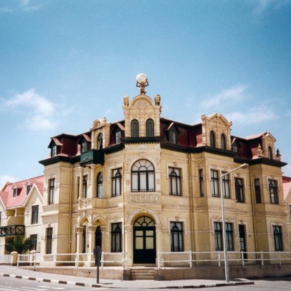 Swakopmund colonial architecture