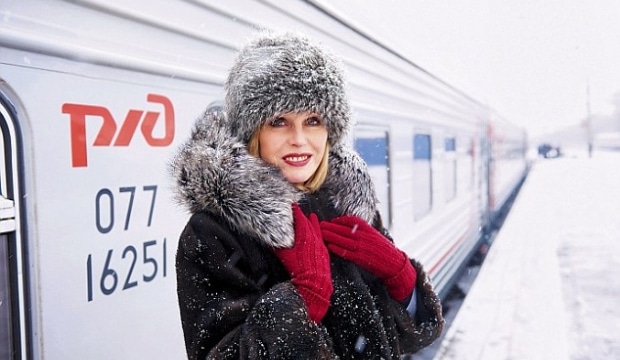 Joanna Lumley in Russia
