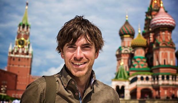 Simon Reeve in Russia