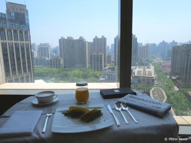 Lunch in my room at The Langham in Shanghai, one of the best hotels I ever stayed for work