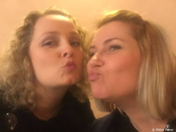 Blowing kisses to my dear former colleague Gosha from Poland