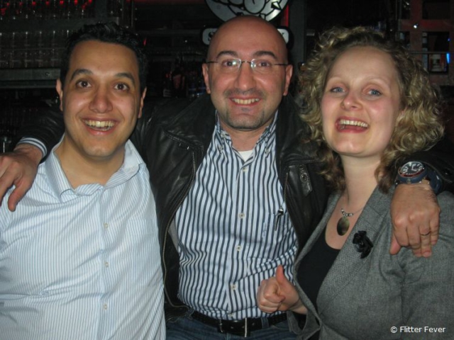 Former colleagues Charbel and Wassef from Lebanon are like brothers to me