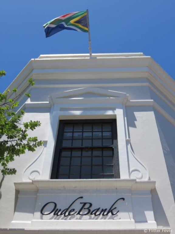 Old bank in Stellenbosch