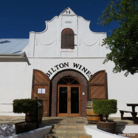 Entrance of Bilton Wines in Stellenbosch