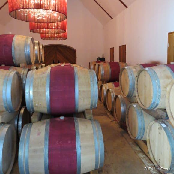 Wine barrels @ Peter Falke, Stellenbosch