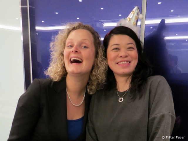 Always fun with my former colleague and friend Joyce from Hong Kong