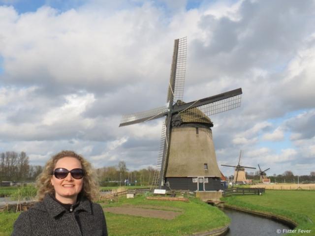 Windmills in Alkmaar, The Netherlands