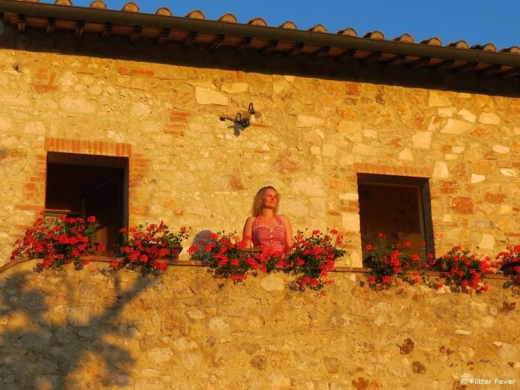Golden hour @ Tuscany, Italy