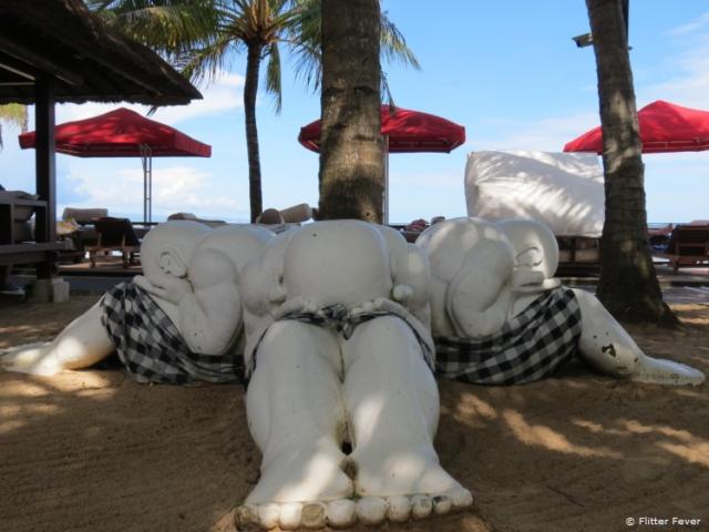 Hindu statues @ Sanur Beach