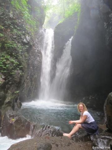 Me @ the wonderful Git Git waterfalls, Bali