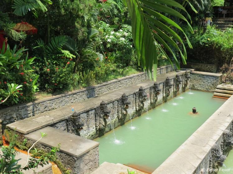 Bathing @ Air Panas Banjar, Bali