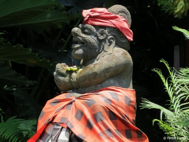 Hindu statue @ Air Panas Banjar, Bali